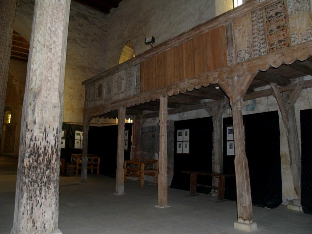 epora z polichromiami w kościele św. jana i katarzyny aleksandryjskiej w świerzawie